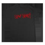 SLIM SHADY T-SHIRT (RED ON BLACK) SLIM SHADY T-SHIRT (RED ON BLACK)