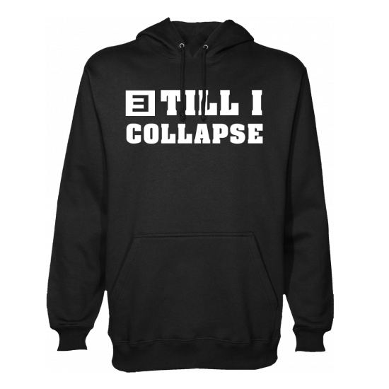 Eminem CYBER MONDAY TILL I COLLAPSE HOODIE