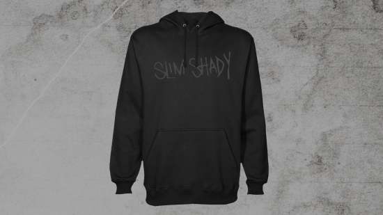 Slim Shady Hoodie Black on Black