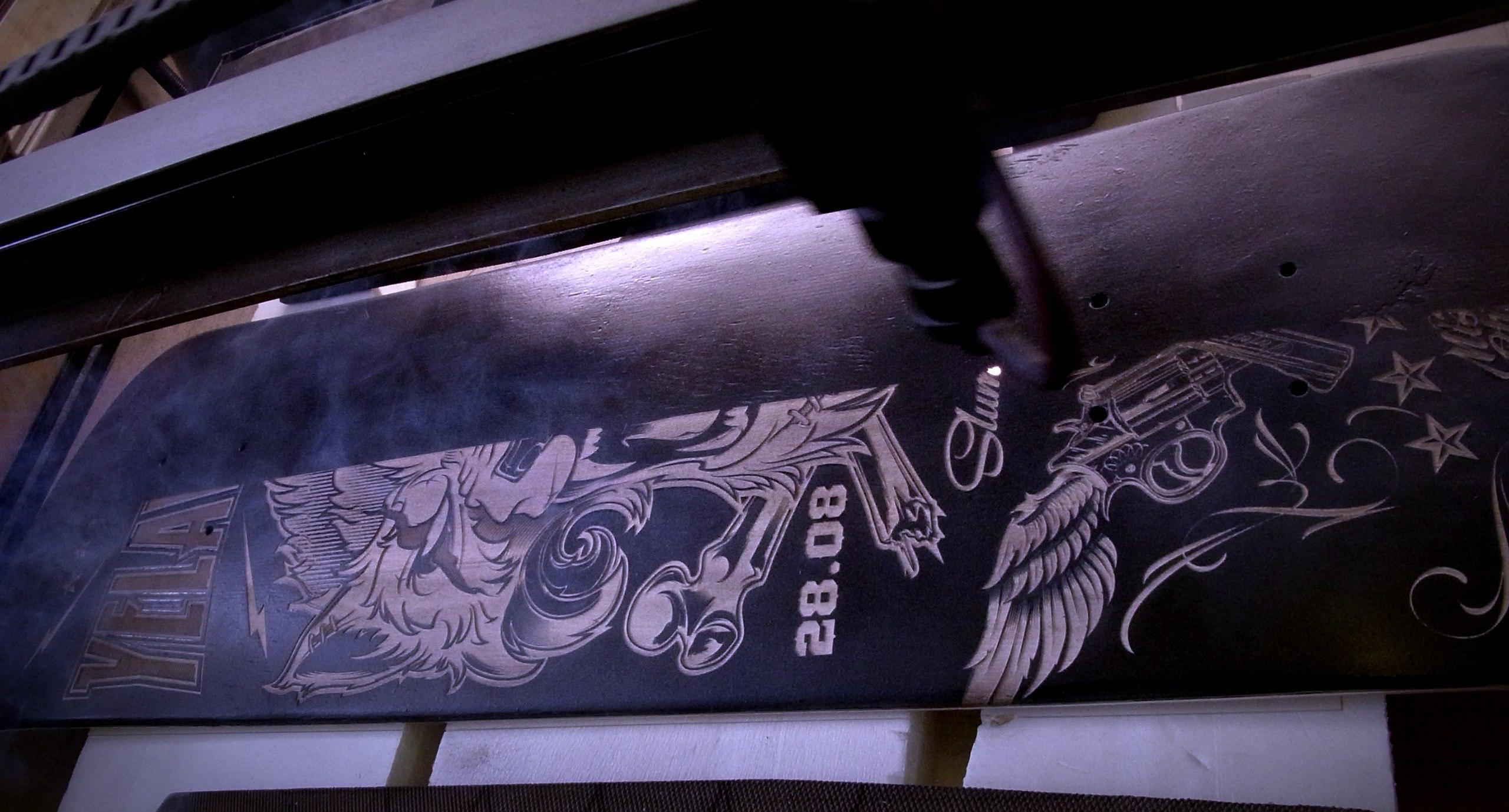 Xzibit Russian Skateboard