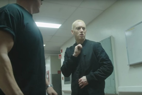 Eminem - Phenomenal (Behind The Scenes) драка