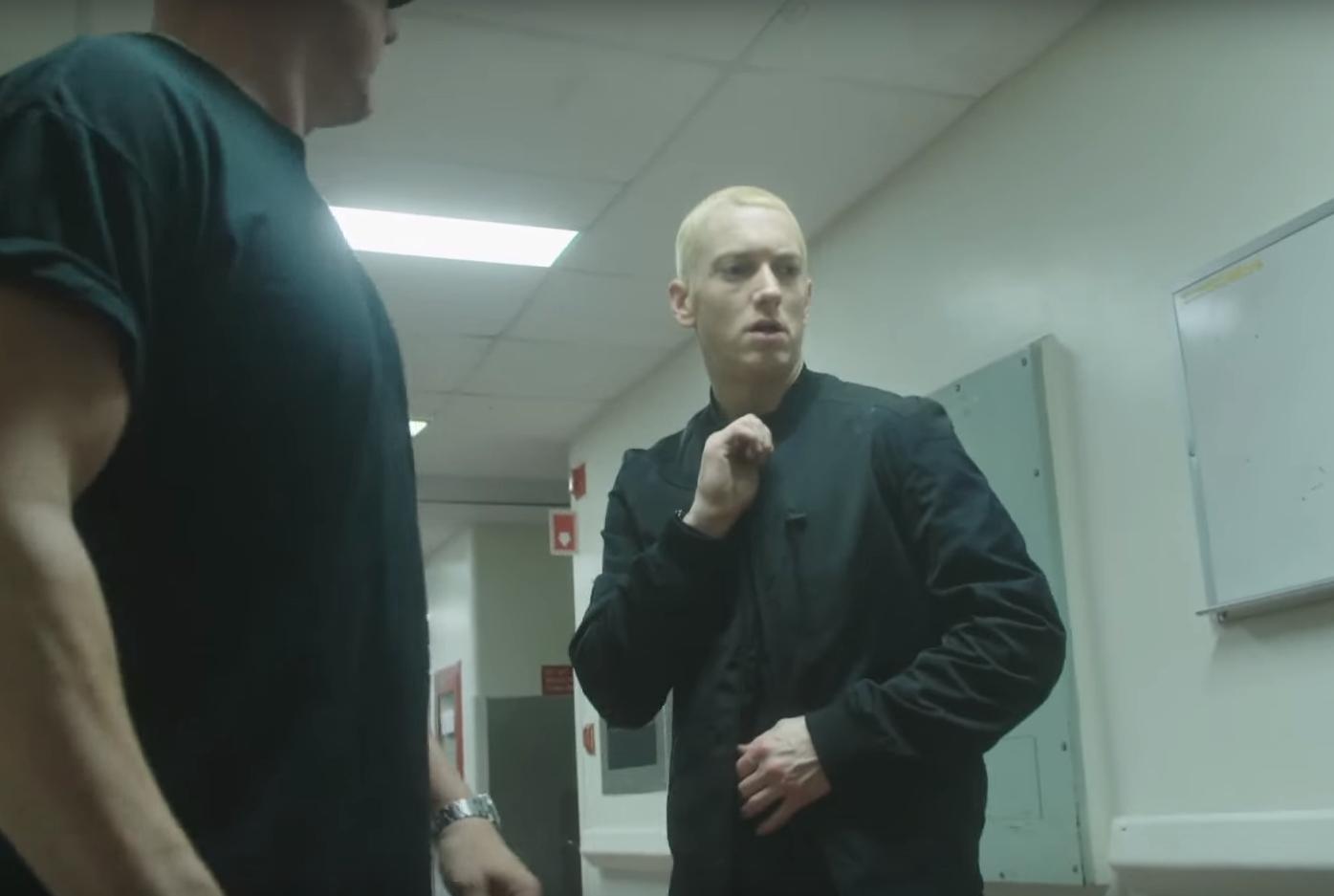 Eminem - Phenomenal (Behind The Scenes) драка