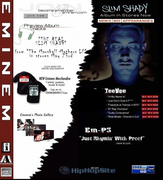 Eminem.Com 1999