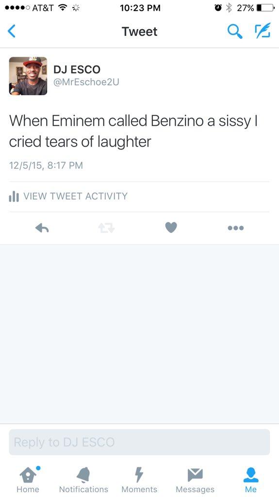 Benzino vs Eminem 2015.