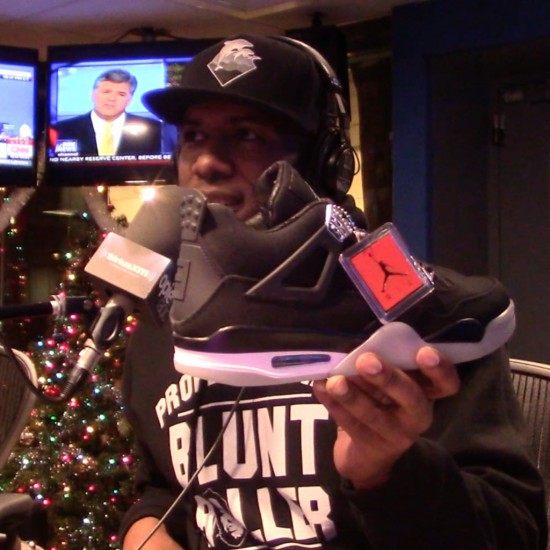 Eminem Christmas Air Jordan IV 5
