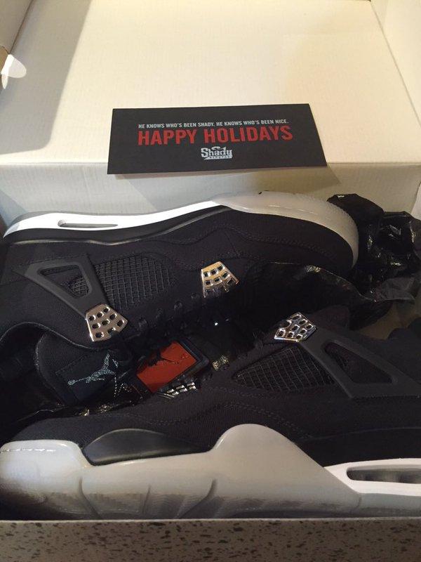 Eminem Christmas Air Jordan IV 3