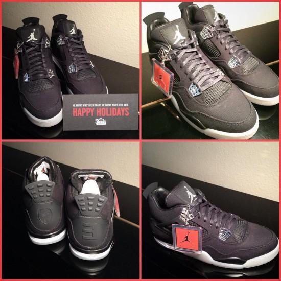 Eminem Erskine Hawkins III Christmas Air Jordan IV