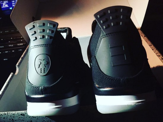 djwhookid Eminem Christmas Air Jordan IV 1