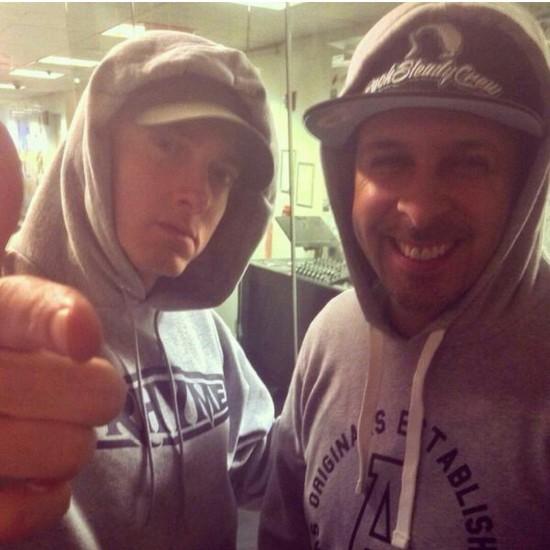 Eminem and DJ Tony Touch Eminem.Pro X DJ Tony Touch: эксклюзивное интервью в честь 10-летнего юбилея Shady45