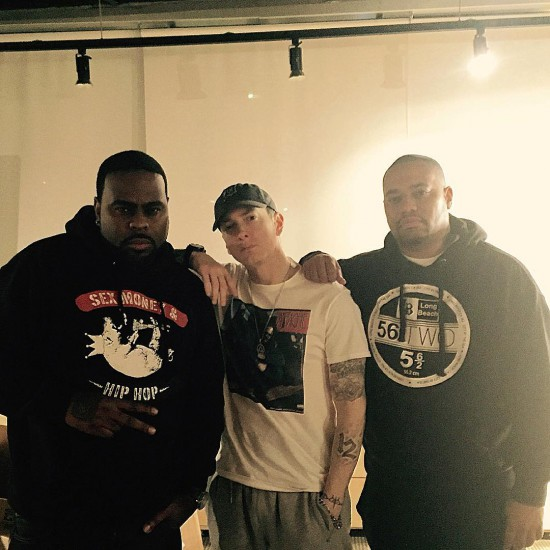 2015.02.06 - KXNG Crooked Eminem and Big Sloan Aka Sloan Bone
