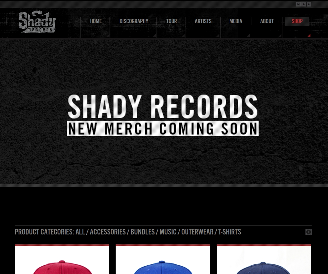 Shady Records мерчендайз