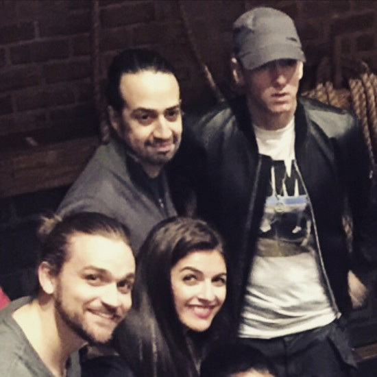 2016.01.29 - Eminem and Neil Haskell Hamilton