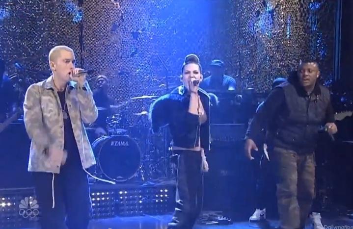 Eminem SNL Skylar Grey