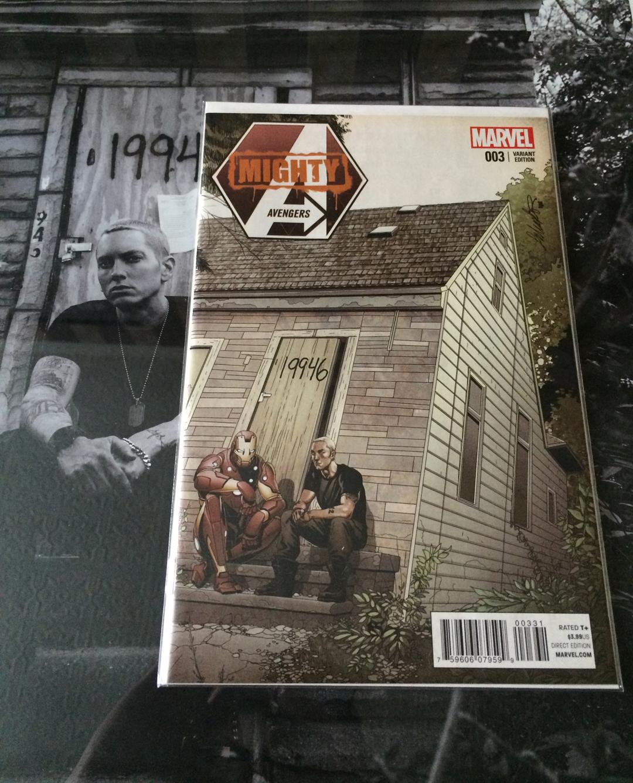 Eminem Marvel Superman