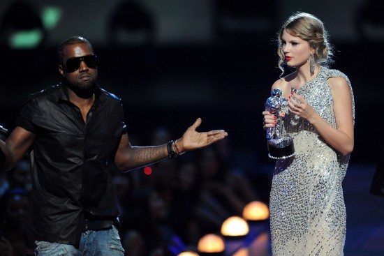 Taylor Swift Kanye West MTV Video Music Awards 2009