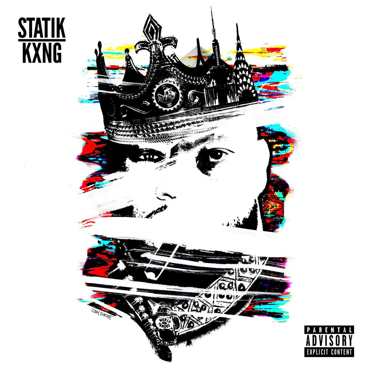 Statik Selektah X KXNG Crooked Statik KXNG Cover 2016