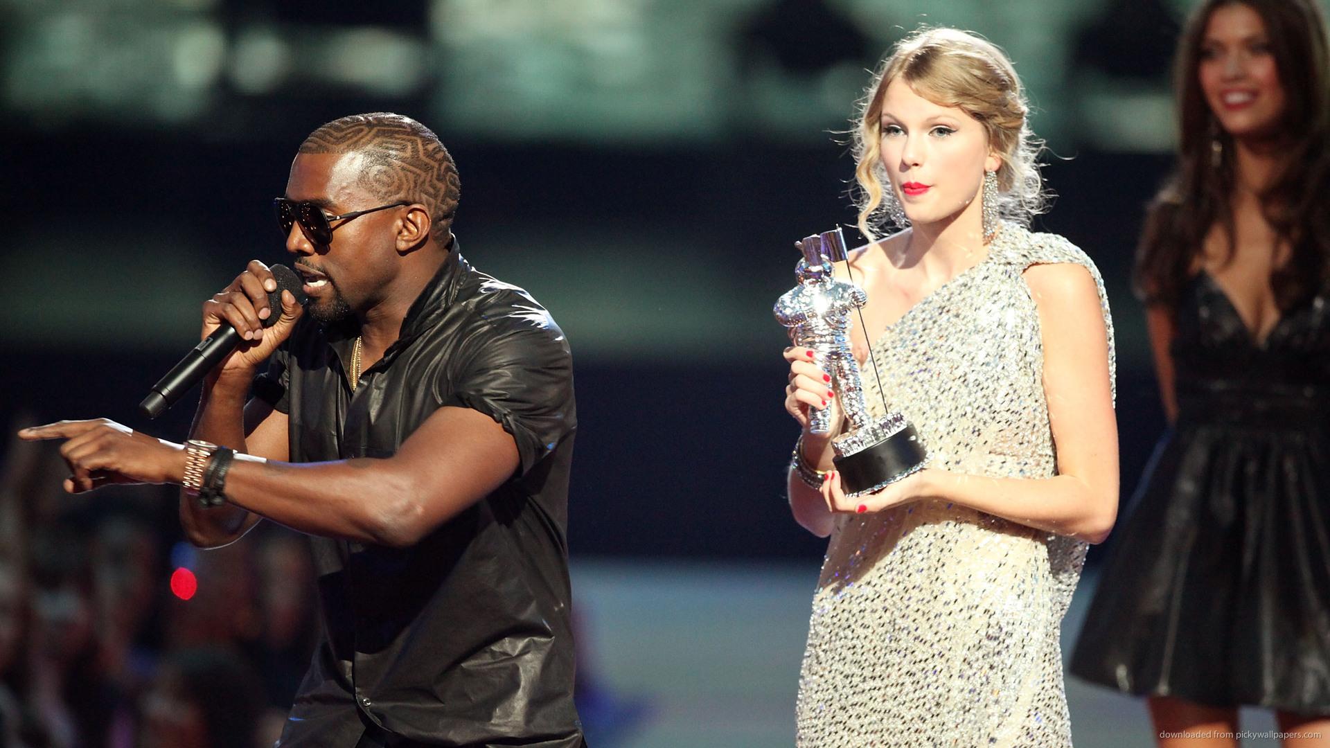 Taylor Swift Kanye West MTV Video Music Awards 2009