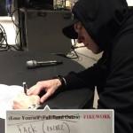 2016.03.06 - Eminem Working on my set list for Lollapalooza, South America