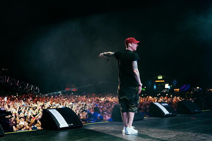 Eminem Lollapalooza 2016 Chile Santiago