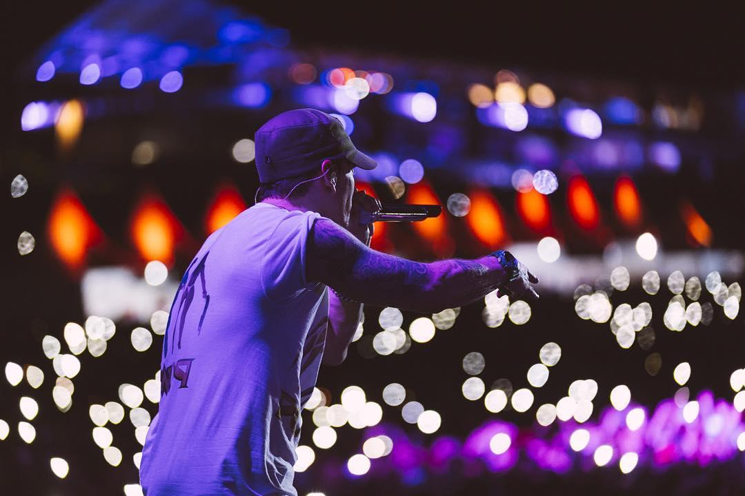 Eminem Lollapalooza 2016 Brazil San Paulu