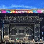 Eminem Lollapalooza 2016 Argentina Подготовка сцены