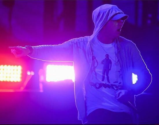 Фотоотчёт с концерта Эминема на фестивале Lollapalooza 2016 в Бразилии 12 марта