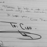 Eminem Lollapalooza 2016 Argentina Буэнос-Айрес автограф фанату
