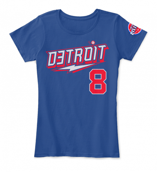 Eminem x Detroit Pistons My Team My City Women