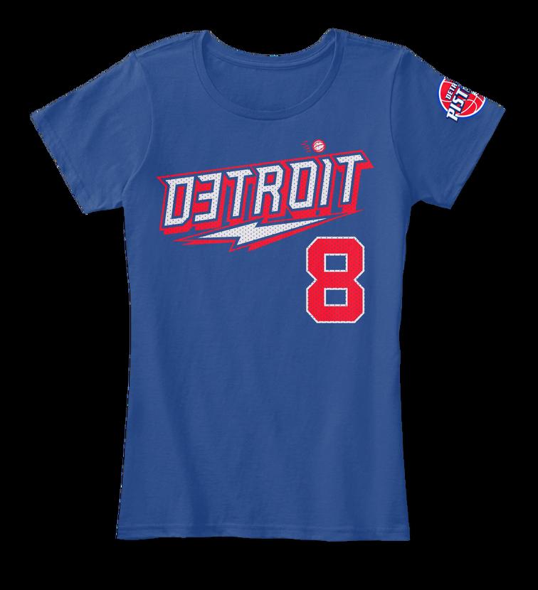 Eminem x Detroit Pistons My Team My City Back