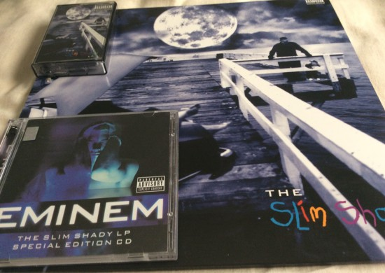 The Slim Shady LP Cassette, Vinyl and CD