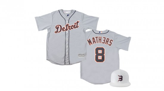 Eminem Tigers Replica Road Jersey + Opening Day Cap - Pre-Order