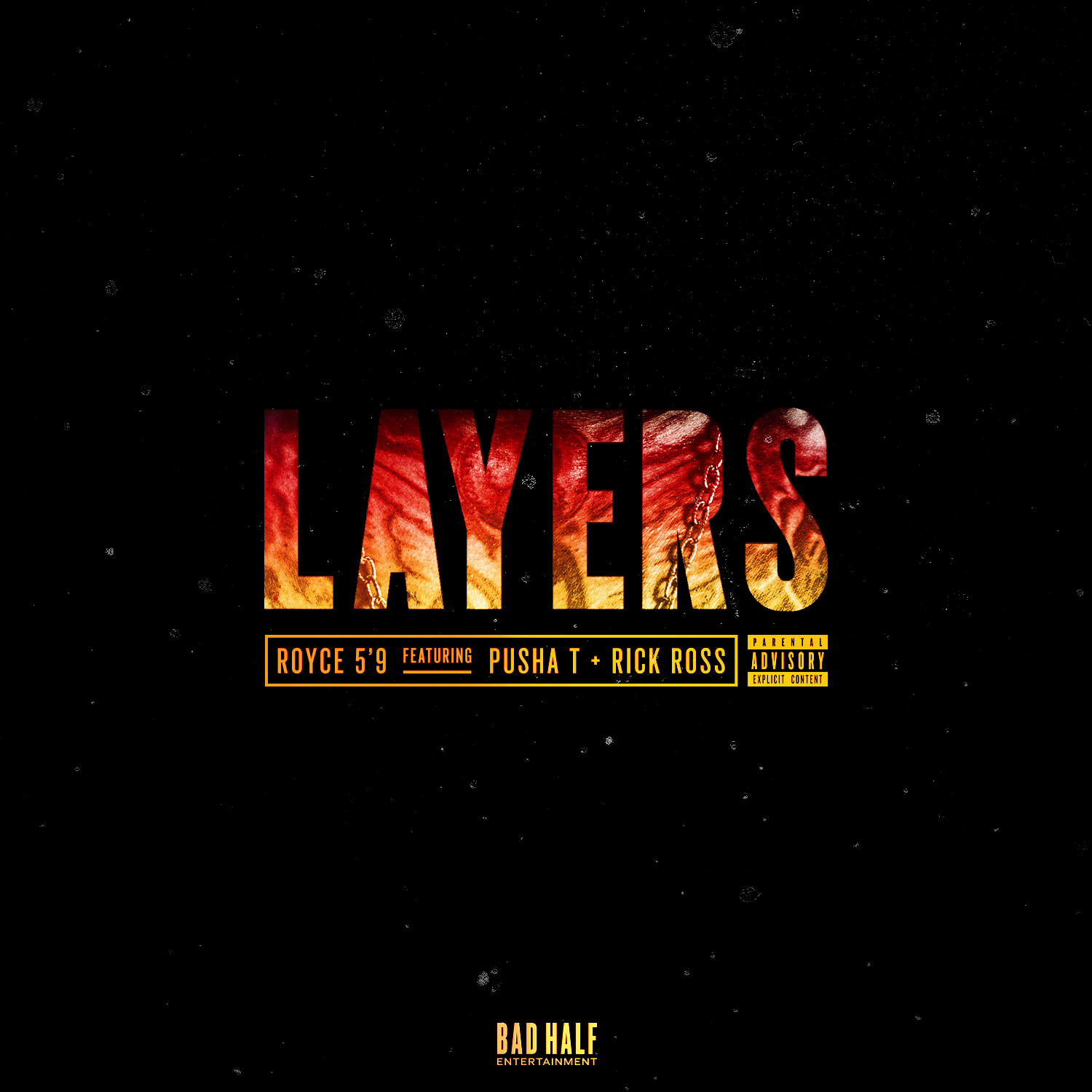 [Премьера сингла] Royce 5'9″ feat. Pusha T X Rick Ross — «Layers»