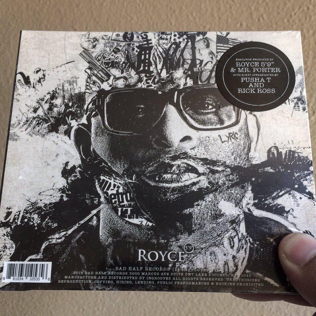 Отличный дебют нового альбома Royce Da 5'9