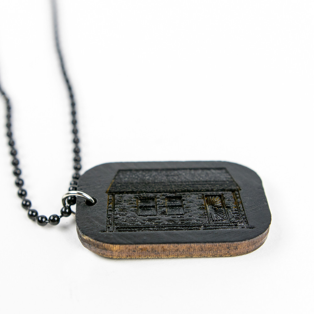 best service 7c17b b3943 ... Eminem Good Wood Dog Tag - Black Dog Tag ...