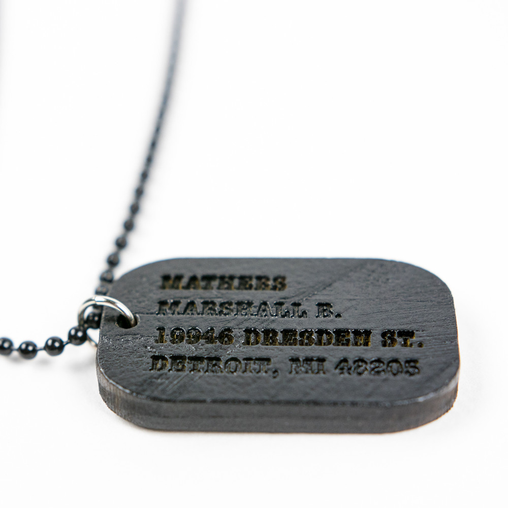 Eminem Authentic Brick x Good Wood Dog Tag x MMLP Cassette x T-shirt