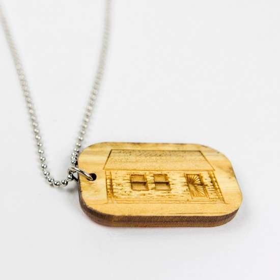 Eminem Good Wood Dog Tag