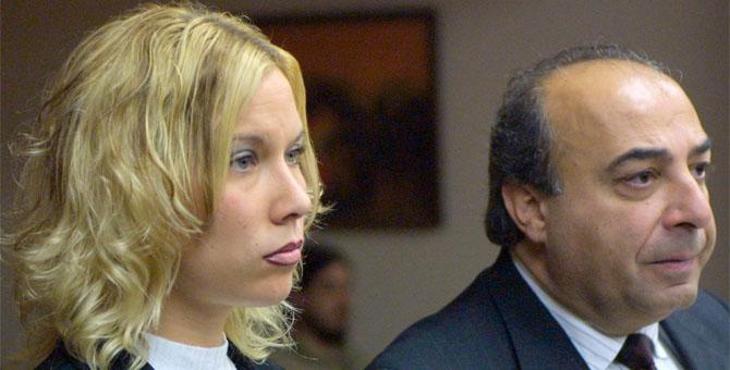 Бывшая жена Эминема - Ким Мэтерс и её адвокат Майк Смит