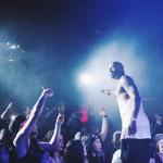 13 июня, 1/4 хип-хоп-супер-группы Slaughterhouse - Joe Budden, - выступил в Нью-Йоркском клубе B.B. King Blues