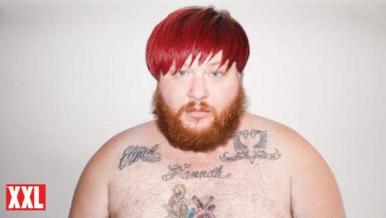 Action Bronson с причёской, как у Rihanna