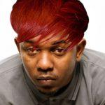 Kendrick Lamar с причёской, как у Rihanna
