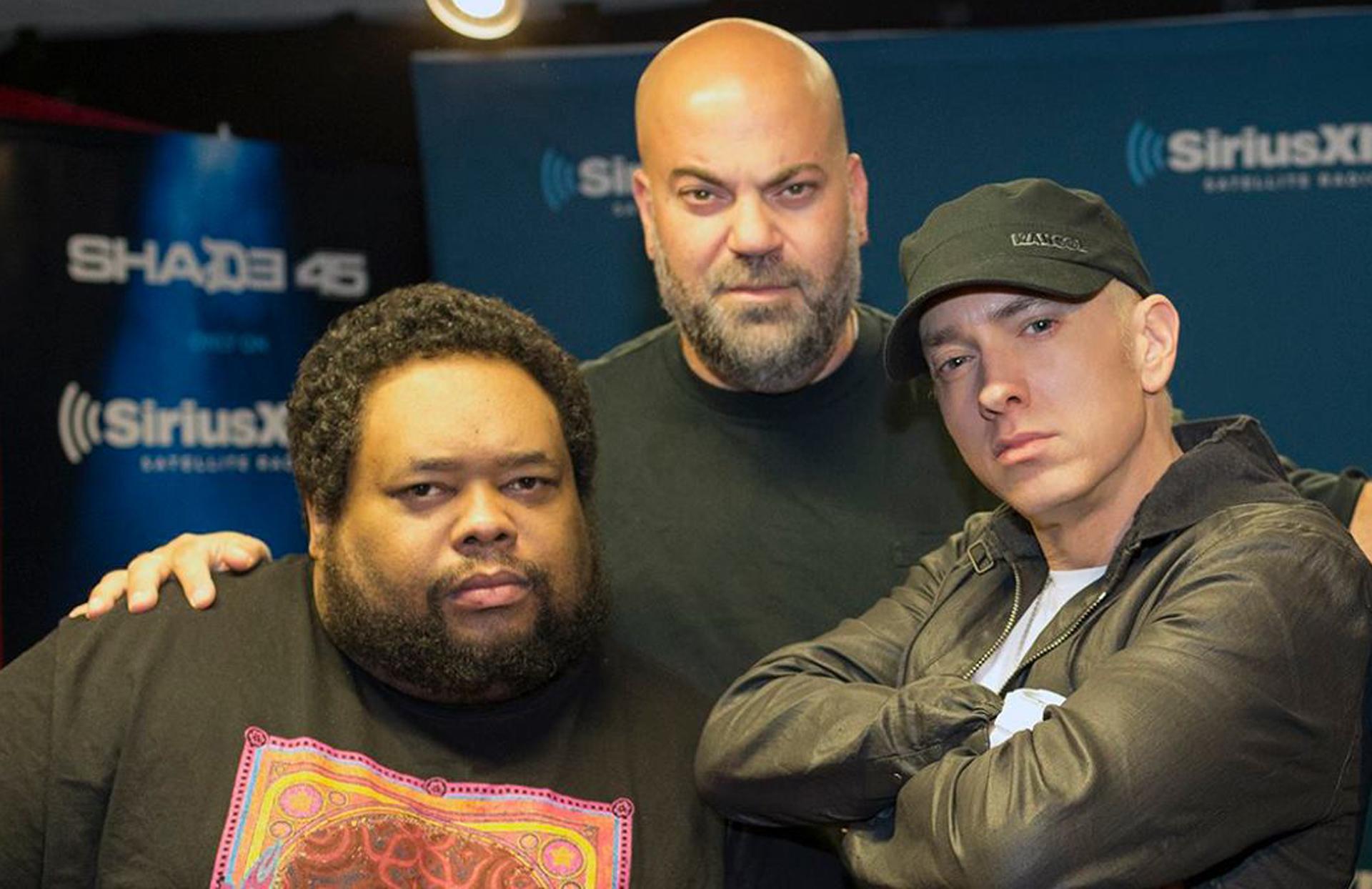 Eminem, Paul Rosenberg, Rude Jude & Lord Sear, Shade 45 2016