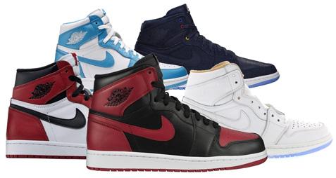 Третий приз: Jordan 1 Pack – Jordan 1 Retro Bred 2013, Retro Chicago 2015, Retro UNC, Retro Family Forever и Retro LA (примерная стоимость $ 1,750)