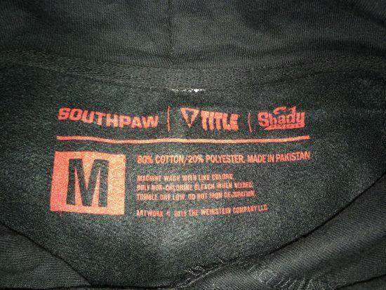 Обзор официального Southpaw-мерчендайза от Eminem'а и Shady Records