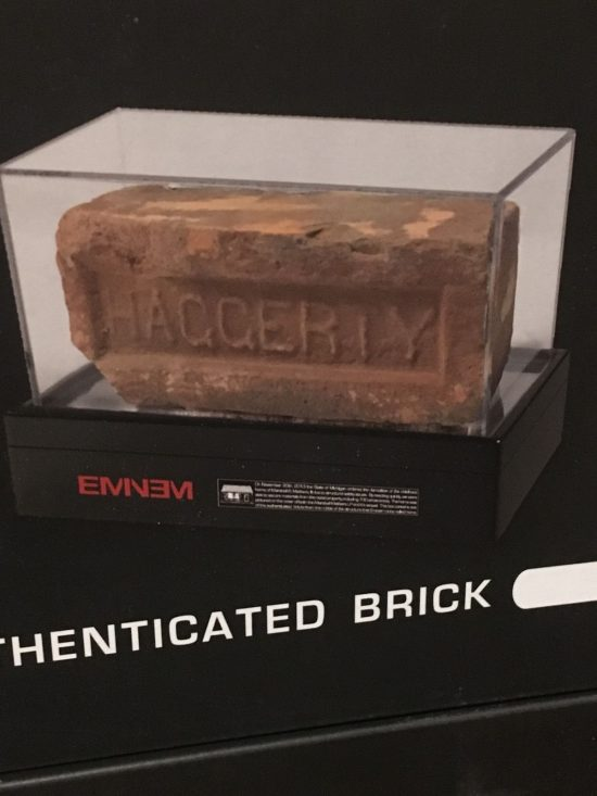 Eminem Authentic Brick x MMLP Cassette