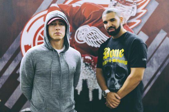 2016.08.17 - Eminem and Drake (Detroit)