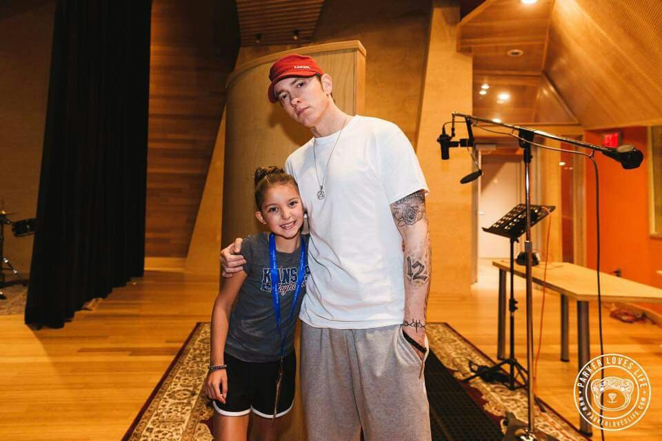 2016.08.25 - Eminem Parker Monhollon Make-A-Wish