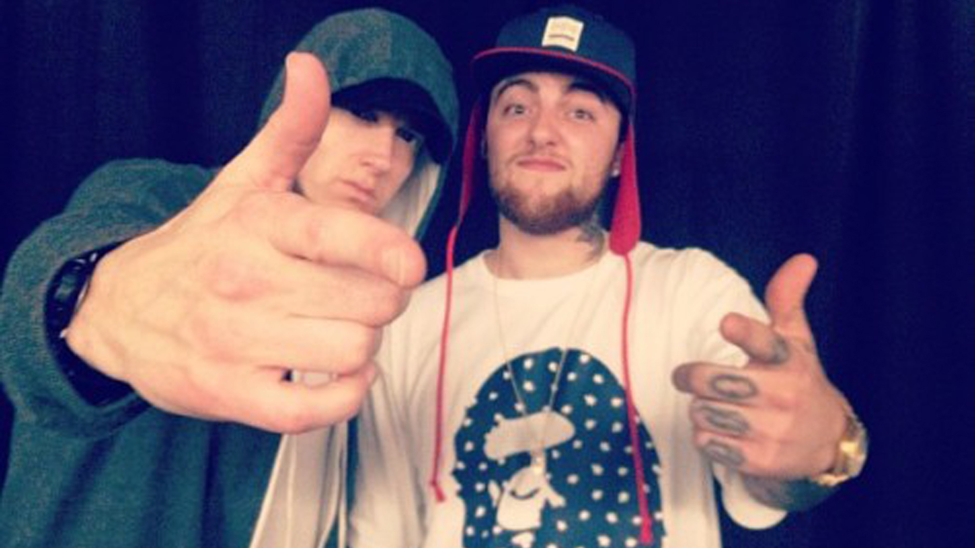 Eminem and Mac Miller