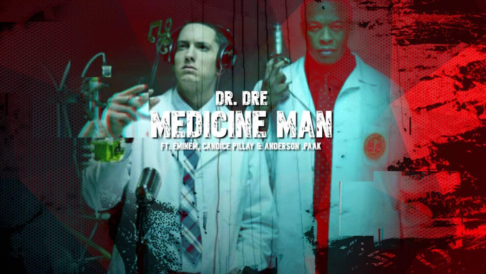 Трек «Medicine Man» от Dr. Dre и Eminem'а мог и не попасть на альбом «Compton»