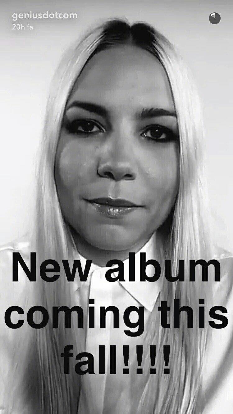Skylar Grey наконец-то официально объявила о том, что её новый альбом, название которого пока не сообщается, выйдет этой осенью. А это означает, что осенью мы услышим её коллаборцию с Эминемом «Come Up for Air»