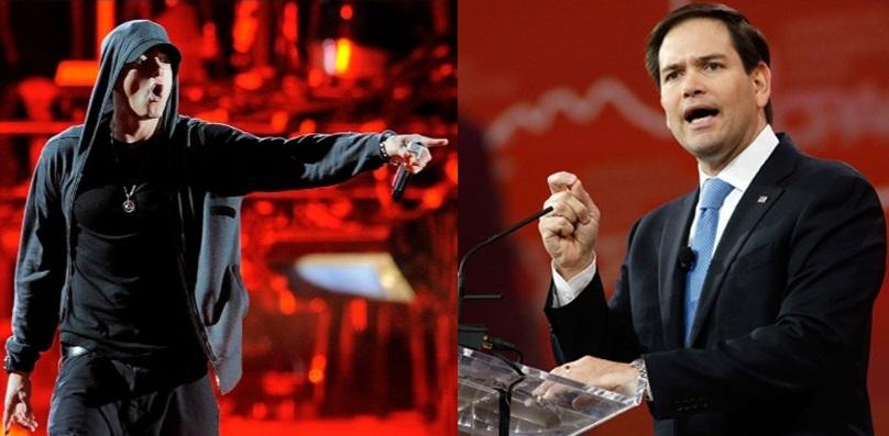 Сенатор Марко Рубио: «Единственный парень, в словах которого есть какая-либо глубина, — это Эминем»